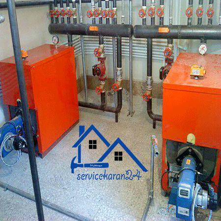 مراحل معاینه فنی در تعمیر و نگهداری موتورخانه