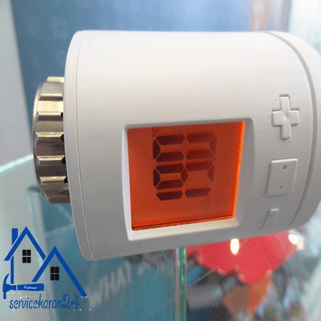 نحوه نصب شیر ترموستاتیک رادیاتور