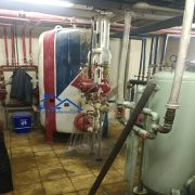 سرویس و تعمیر منبع کویل دار موتورخانه