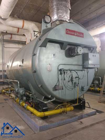 تعمیرات دیگ های بخار و بویلر های آب داغ