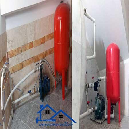 نصب پمپ آب خانگی در تهران