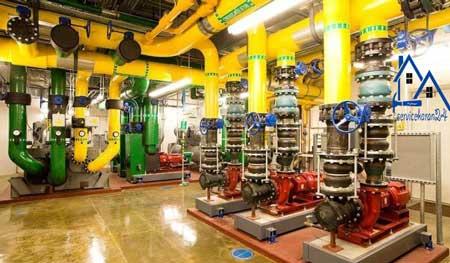 هزینه تعمیر و نگهداری موتورخانه مرکزی در تهران